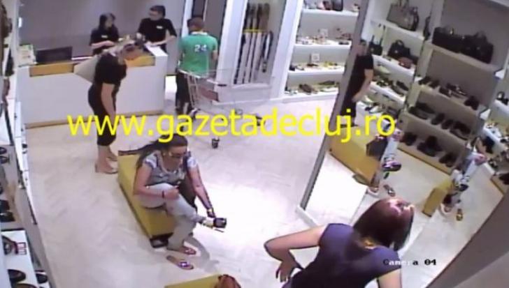 A rămas fără portofelul cu 6.000 de euro în timp ce proba o pereche de pantofi