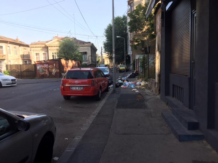 Munți de gunoaie, la doi pași de centrul capitalei. Autoritățile se fac că nu văd de ani de zile