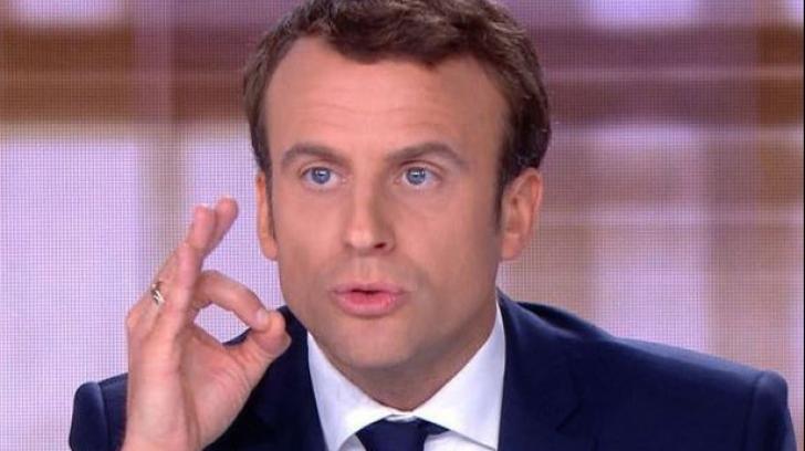 Președintele Franței, Emmanuel Macron