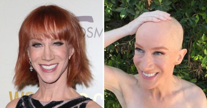 O actriţă celebră s-a ras în cap, în semn de solidaritate cu sora sa, bolnavă de cancer