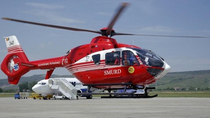 Elicopterul, solicitat pentru salvarea unei turiste care s-a accidentat în Munţii Făgăraş