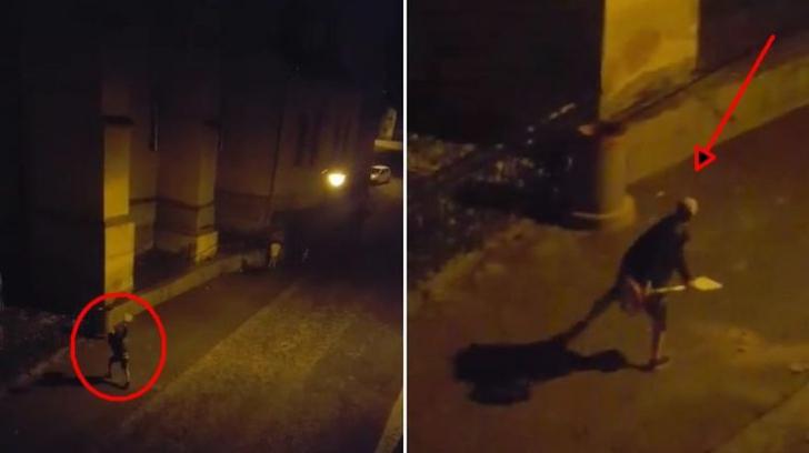VIDEO. Reacţia neaşteptată a unui şofer, după ce a văzut că i-a fost ridicată maşina