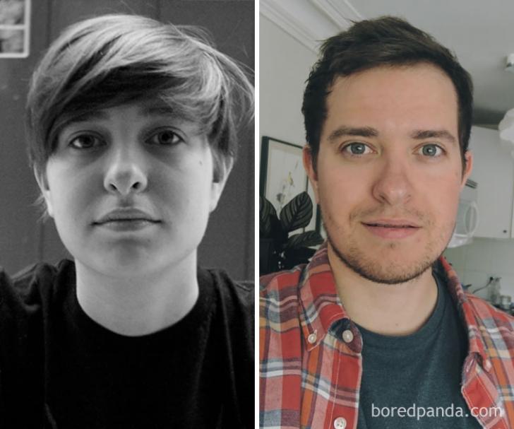 Transformări greu de crezut. Și-au schimbat complet înfățișarea în doar câteva luni