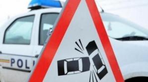 GRAV ACCIDENT pe DN 22, la ieşirea din localitatea Bărăganul. Traficul, BLOCAT