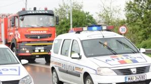 Accident grav în Ilfov, cu patru maşini. Un om a murit