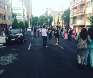CUTREMUR violent în Mexic, cu puţin timp în urmă. Mii de oameni au fost evacuaţi