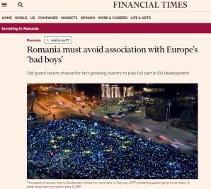 FT despre România