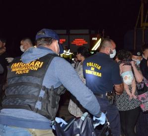 153 de imigranți la Constanța