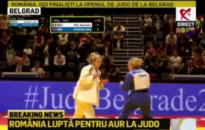 România, doi finalişti la Open-ul de JUDO de la Belgrad