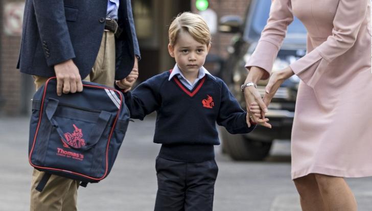 """Motivul pentru care Prinţul George NU are voie să aibă un """"prieten cel mai bun"""" la şcoală"""