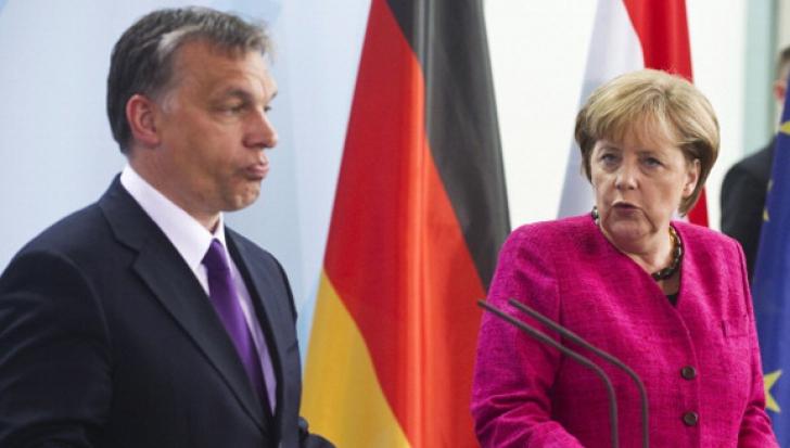 Angela Merkel lansează un atac dur la adresa Ungariei lui Viktor Orban