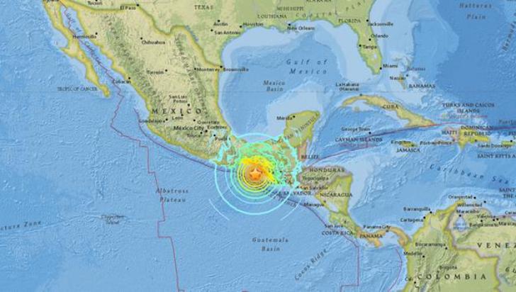 Cutremur de 8 grade în Mexic