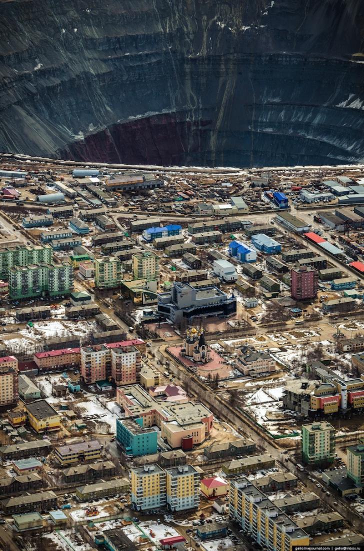 Imagini ireale din orașul de la capătul lumii. Ruşii îl ţin ascuns
