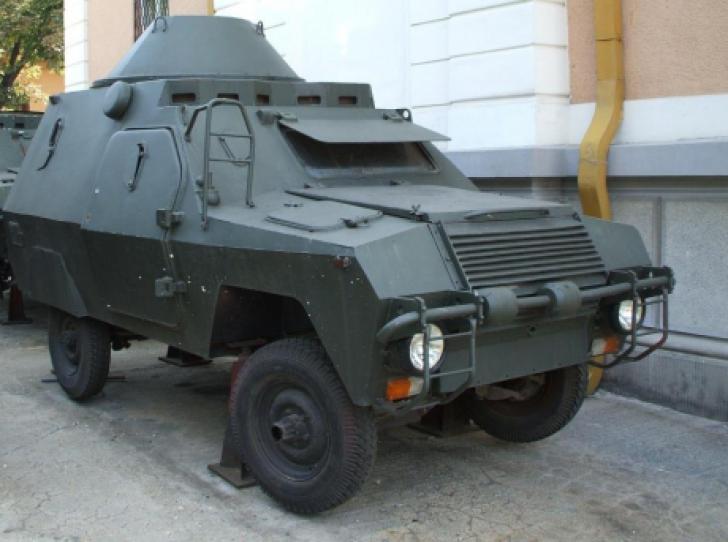 Maşina pe care comuniştii au construit-o în secret. Cum arată mastodontul cu 2 mitraliere