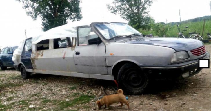 Dacia 1310 de 7 metri lungime! Noua invenţie. Surprinzător că există aşa ceva pe străzi