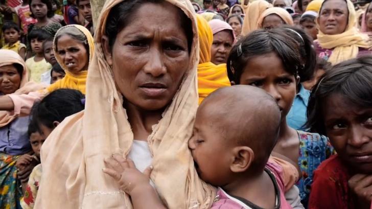 """""""Acesta e sunetul foamei"""" - cum arată DISPERAREA refugiaţilor rohingya care au pierdut totul"""