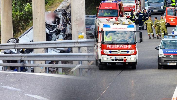 ACCIDENT ȘOCANT lângă Viena! 5 români au MURIT