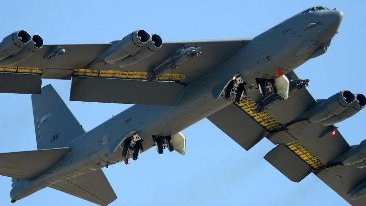 Bombardiere SUA, în apropierea Coreei de Nord