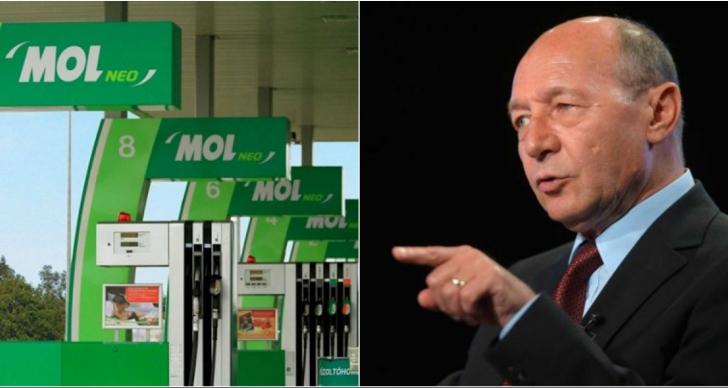 Traian Băsescu, atac la MOL