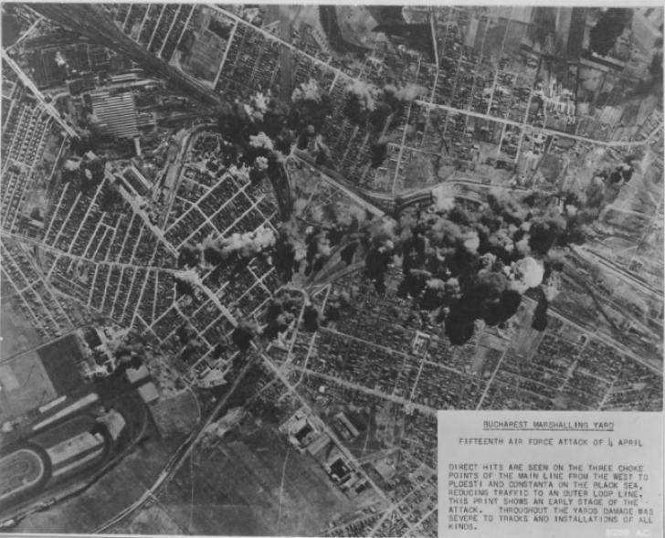 Povestea ascunsă a zilei când Bucureștiul a fost DISTRUS. Cum au UCIS americanii mii de români