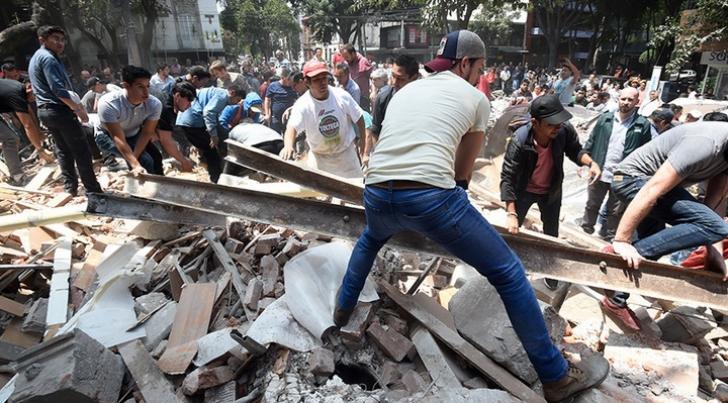 CUTREMUR DEVASTATOR în Mexic: 7,1 grade pe scara Richter: ZECI de morţi