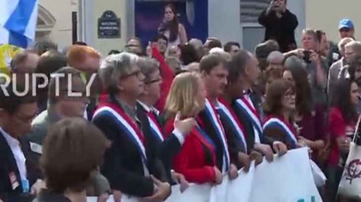 Proteste de amploare la Paris. Reformele lui Macron, contestate