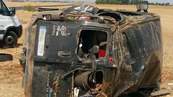 Români plecați la muncă în Spania, răniți într-un grav accident rutier. O tânără gravidă a murit