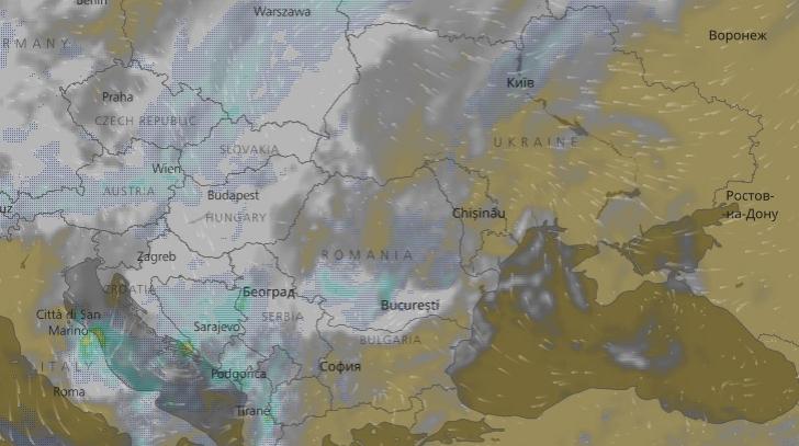Cum Se Vede Din Satelit Ciclonul Mediteranean Care Lovește Astăzi