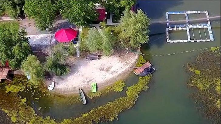 Primar din Teleorman, despre insula Belina, în 2013: Plajă există, dar nu-s căsuţe să vii cu amanta