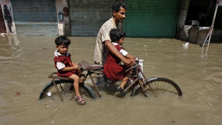Inundaţii Asia
