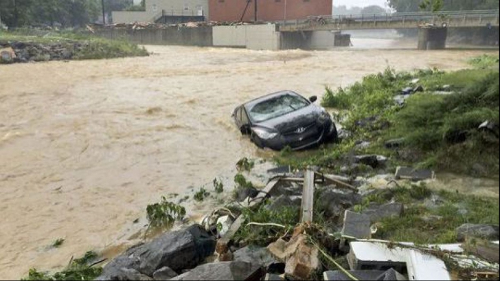 O nouă alertă în SUA: Vin inundații DEVASTATOARE!