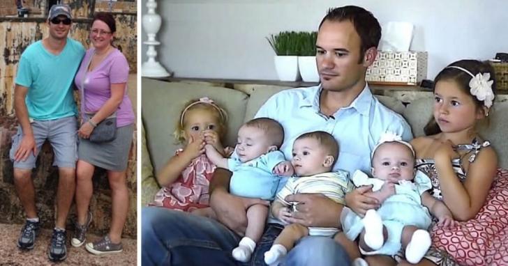Ea a murit subit, lăsându-l cu cei 5 copii. Soțul și-a amintit că într-o noapte ea s-a simțit ciudat