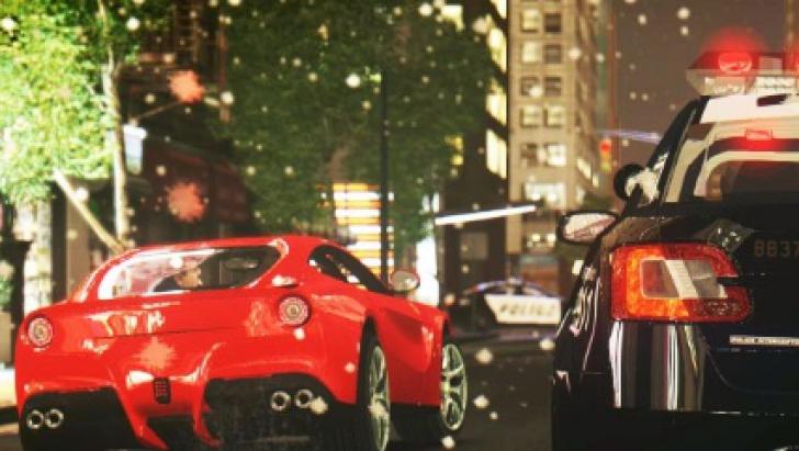 Poliţia a zărit un Ferrari F12, de 300.000 €. Când au văzut cine-i şoferul, i-au cerut autograf