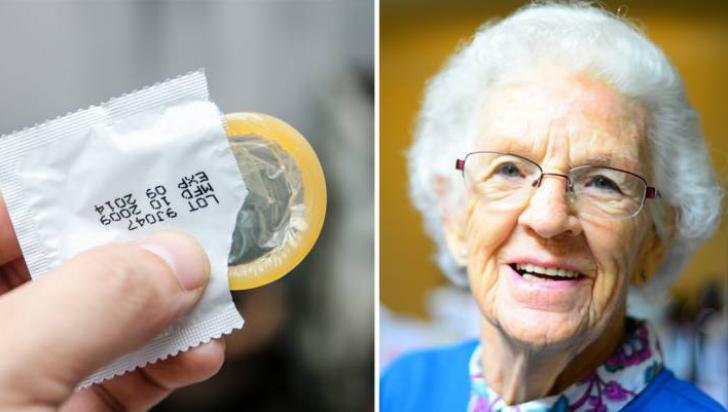 O bătrână de 81 de ani a intrat la farmacie să cumpere prezervative. Fiule, să se potrivească ...