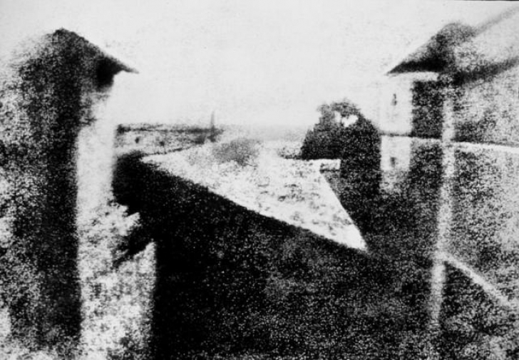 Iată cum arată cea mai veche fotografie din lume!