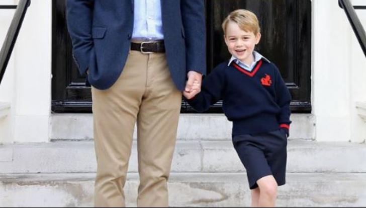 Prinţul George, prima zi la şcoală. Va folosi alt NUME DE FAMILIE decât cel al tatălui său