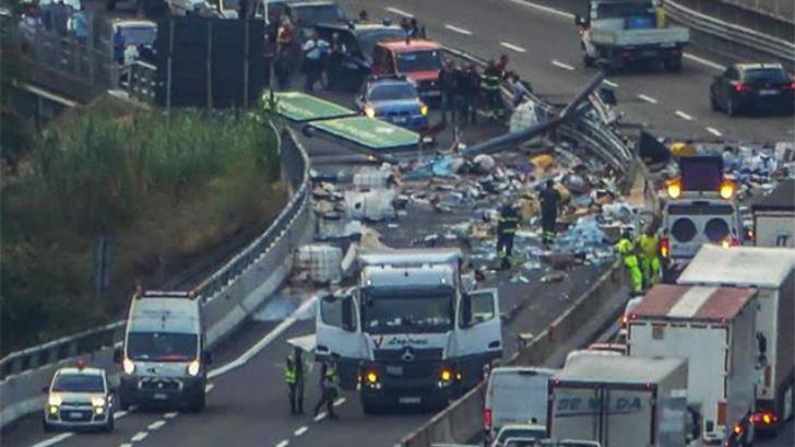 Cum a reușit un român să blocheze o autostradă din Italia timp de 12 ore