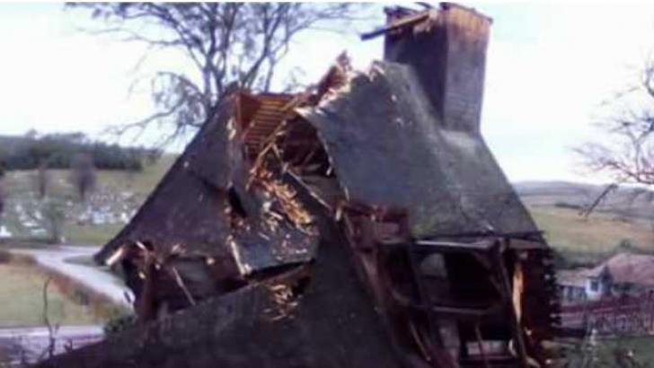 VIDEO. Două biserici din Sălaj, distruse de furtuna cumplită