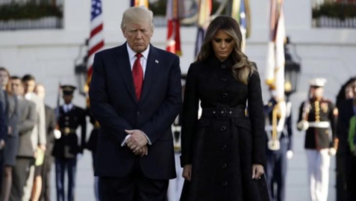 16 ani de la atentatele de la 11 septembrie 2001. Trump a ţinut un moment de reculegere la Casa Albă