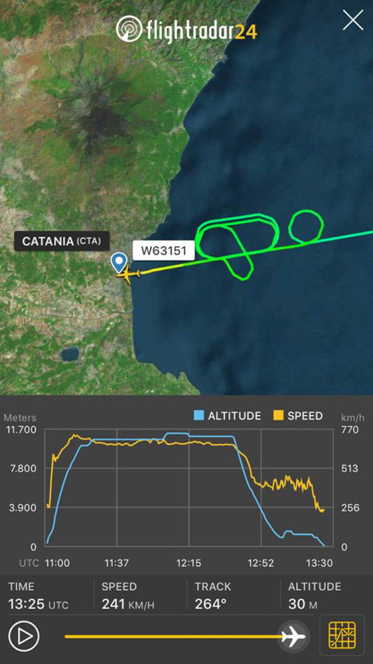 Clipe de GROAZĂ la bordul unui avion: doi pasageri au suferit un atac de panică! Reacția Wizz Air