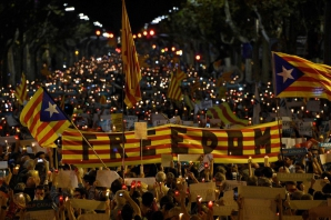 Proteste în Barcelona