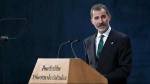 """""""Catalonia este și va fi o parte esențială a Spaniei"""", afirmă regele Felipe al VI-lea"""