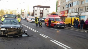 Accident grav în Brașov