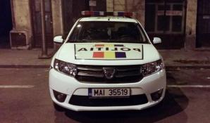 Masina Politiei, tractata
