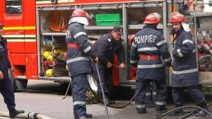 Incendiu într-un bloc din Craiova: 28 de persoane au fost evacuate