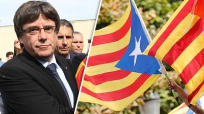Liderul catalan Puigdemont a cerut Parlamentului să ia o decizie privind proclamarea Independenței