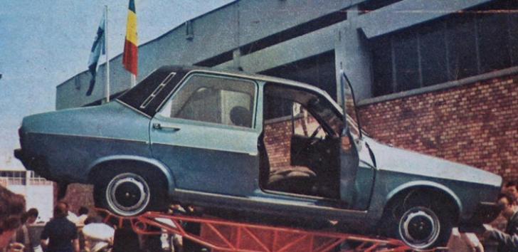 Cum arată Dacia 1310 TS, comandată de Ceauşescu, cu elemente OZN şi priză pentru frigiderul Fram