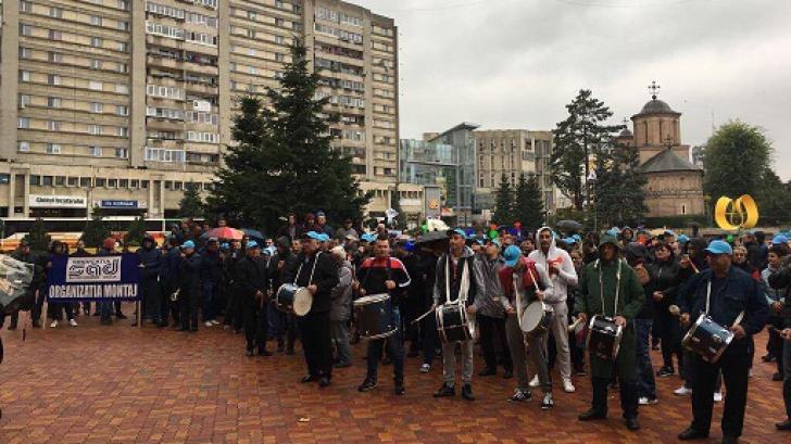 Protest Dacia