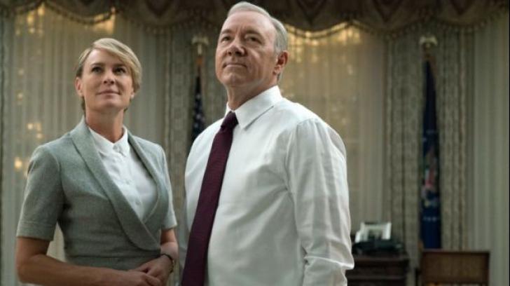 """Decizia bombă luată de Netflix în legătură cu serialul """"House of Cards"""""""