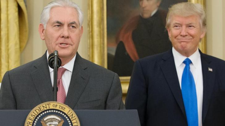 """După ce l-a numit """"tâmpit"""" pe Trump, șeful diplomației SUA are zilele numărate în administrație"""